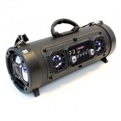 Boxa Bluetooth portabila, Surround 16W, Jack 3.5 mm, FM USB TF, LED, tip geanta