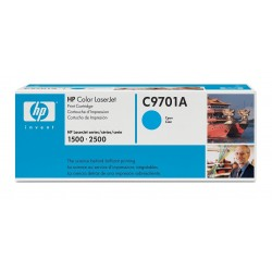 Toner C9701A black original HP C 9701A
