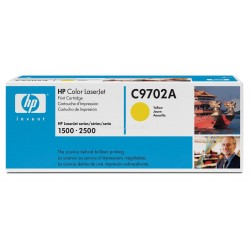 Toner C9702A yellow original HP C 9702A