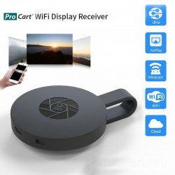 Conector HDMI wireless 2.4 GHz, 1080P, HD, Android, IOS, G2 MiraScreen
