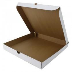 Pachet 2 cutii pizza cu si fara capac, 320x320x80 mm