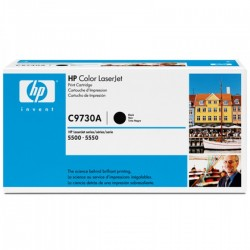 Toner C9730A black original HP C 9730A
