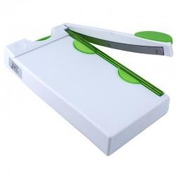 Ghilotina manuala format A4, cutit otel, hartie, poze, carduri