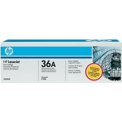 Toner CB436A black original HP 36A