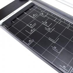 Ghilotina manuala, cutit rotativ, ghidaj magnetic, rezerva cutit