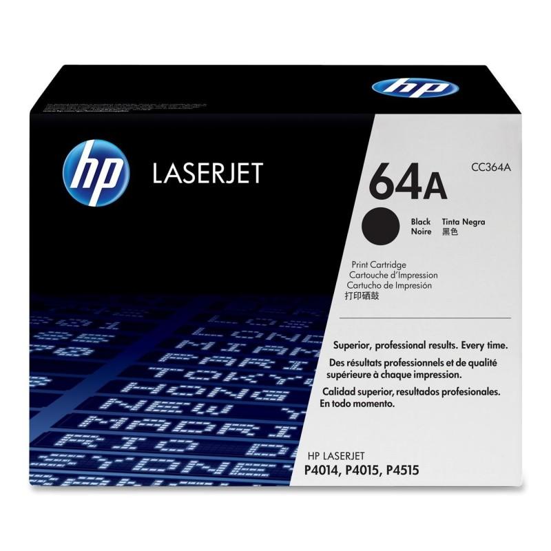 Toner CC364A black original HP64A