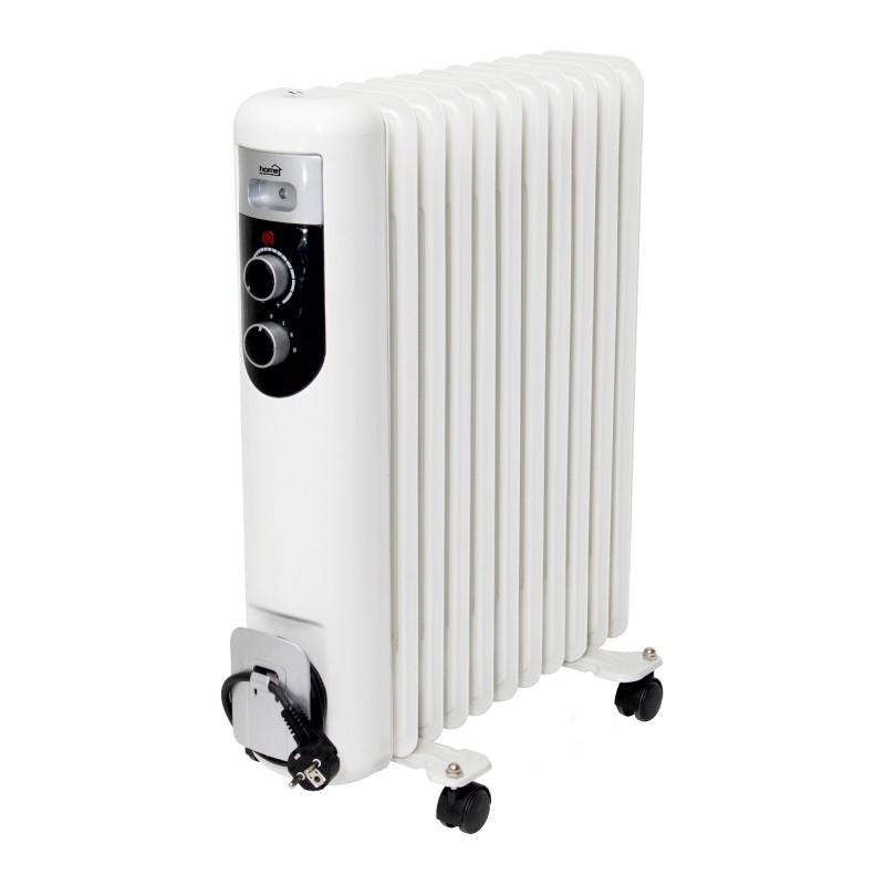 Radiator cu ulei, 11 elementi, putere 800W/1200W/2000W, termostat