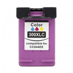 Cartus compatibil CC644E pentru imprimante HP, 15ml, Tricolor