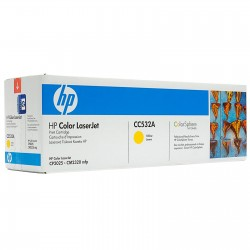 Toner CC532A yellow original HP CC 532A