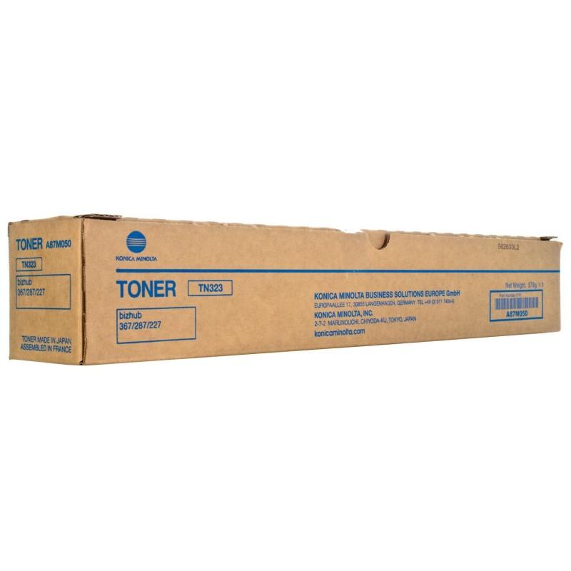 Cartus toner original TN323 Black A87M050 Konica Minolta Bizhub 227