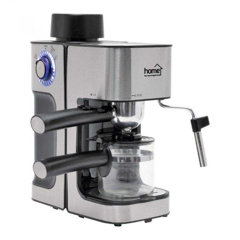 Espressor cafea 800W, 240ml, tija spuma lapte, protectie supraincalzire