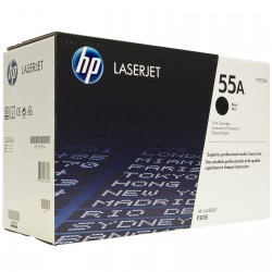 Toner CE255A black original HP55A