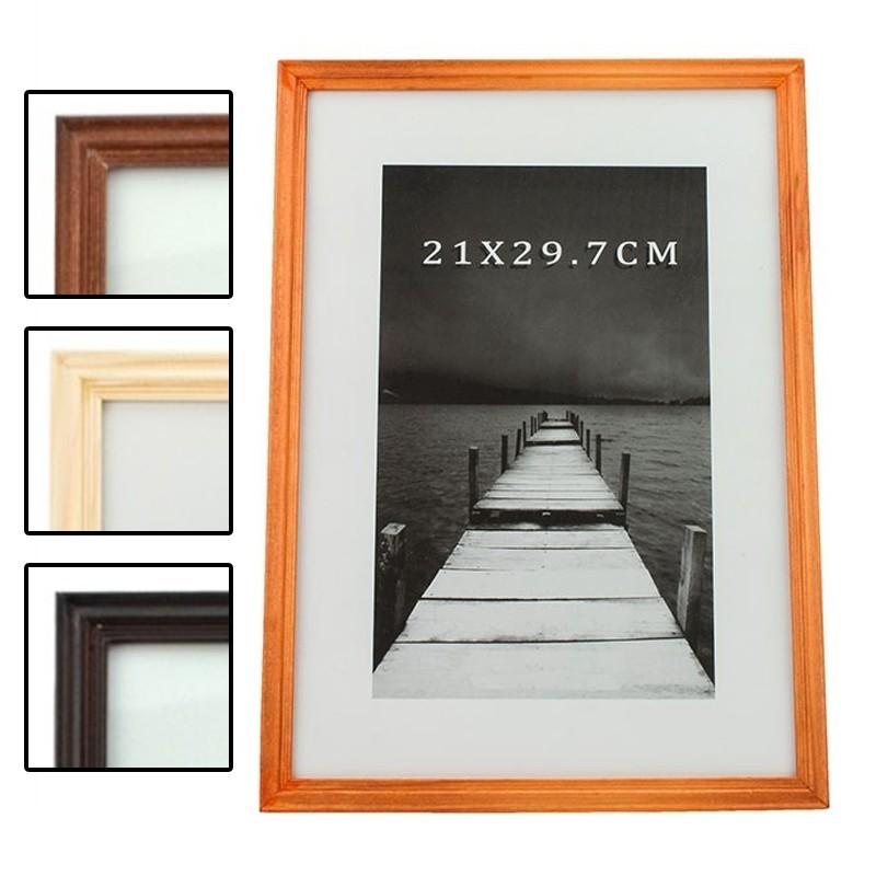 Rama foto din Lemn, 21x29.7 cm