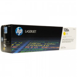 Toner CE322A yellow original HP 128A