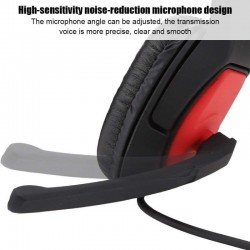 Casti gamming, microfon, Surround, Jack 3.5mm, perne spuma, iPega