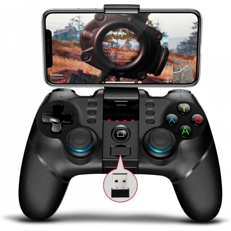 Gamepad telescopic, controller wireless, 3 in 1, compatibil iOS, Android si Windows