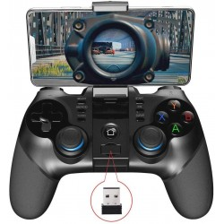 Gamepad telescopic, controller wireless, 3 in 1, compatibil iOS, Android si Windows
