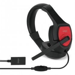 Casti gamming cu microfon Jack 3.5mm, N-Switch, Surround, P4/PC/smartphone, iPega