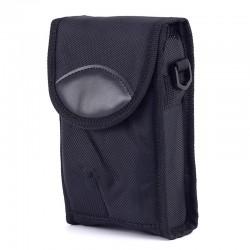 Husa pentru PDA, curea, clema, inchidere scai, interior buretat, negru