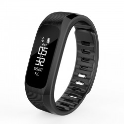 Bratara fitness monitor ritm cardiac, bluetooth si display OLED