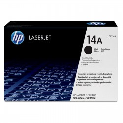 Toner CF214A black original HP 14A