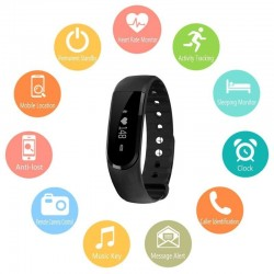 Bratara fitness, Bluetooth 4.0, Android, iOS, ecran OLED, IP67, SoVogue