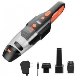 Aspirator Vacuum auto, 3 capete, putere 120W, acumulator, filtru Hepa