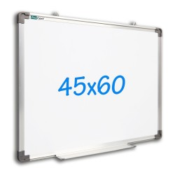 Tabla magnetica metalica, 45x60 cm, rama de aluminiu, suport marker