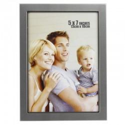 Rama foto Jadrien 13x18 cm, metalica,  suport pentru birou, argintiu