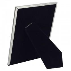 Rama foto eleganta, 13x18 cm, de birou, metalica, argintiu