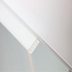 Flipchart magnetic cu trepied, 70x60 cm, cleme prindere hartie