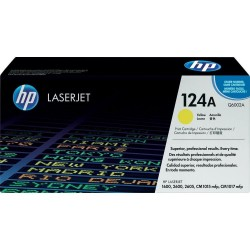 Toner Q6002A yellow original HP 124A