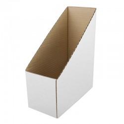 Suport arhivare documente, pozitie verticala, carton alb intarit, inaltime 30cm