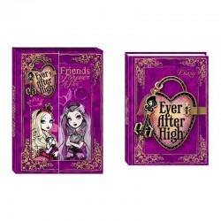 Jurnal Ever After High, inchidere lacat, cheita, cutie depozitare, violet