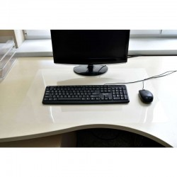 Suport protectie birou, PVC, antialunecare, grosime 0.5 mm, 100x50 cm, Resigilat