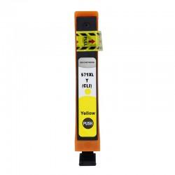 Cartus compatibil pentru Canon CLI-571XL Yellow 11 ml, ProCart, capacitate mare