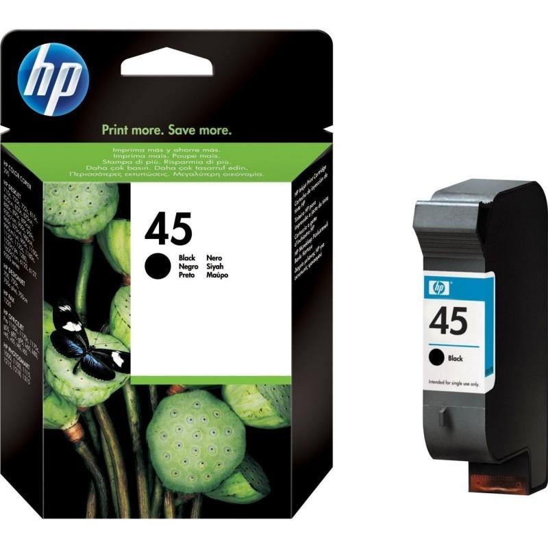 Cartus original HP45 Black HP 45