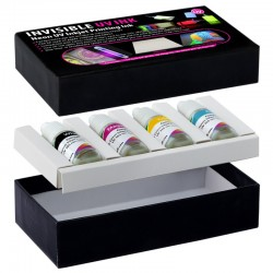 Cerneala invizibila pentru imprimante Epson seria L, set 4 culori