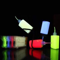 Cerneala UV invizibila Cyan pentru imprimanta Epson