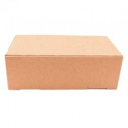 Cutie cu autoformare 150x100x100 mm, carton natur microondul E, FEFCO 0427
