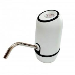 Pompa electrica pentru apa, incarcare USB, teava otel, tub silicon 55cm, alb