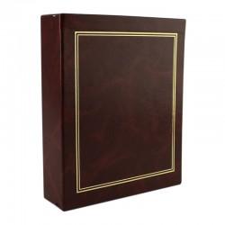Album foto 200 fotografii, 10x15 cm, cutie protectie, piele ecologica, Resigilat