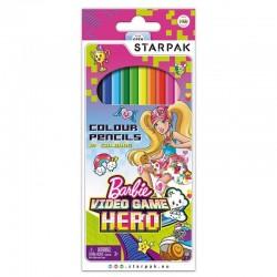 Creioane Barbie, set 12 culori