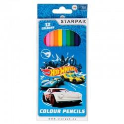Creioane Hot Wheels, set 12 culori
