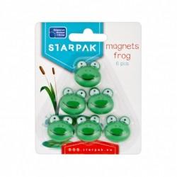 Magneti Broscuta pentru table magnetice, set 6 bucati, Starpak