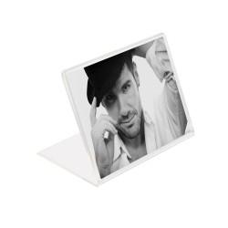 Rama foto tip L, format 10x15, portrait, plexiglas transparent