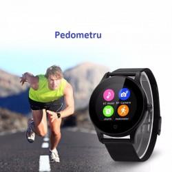 Smartwatch, Bluetooth 4.0, 1.22 inch, 240X204 pixeli, otel inoxidabil, Sovogue