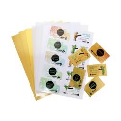 Folii PVC pentru carti vizita, inkjet, format A4, grosime 760 microni