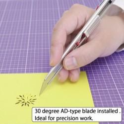 Cutter metalic lama 9 mm cu inclinatie 30 grade, uz profesional