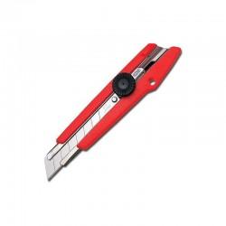 Cutter profesional cu surub blocator, lama 18 mm